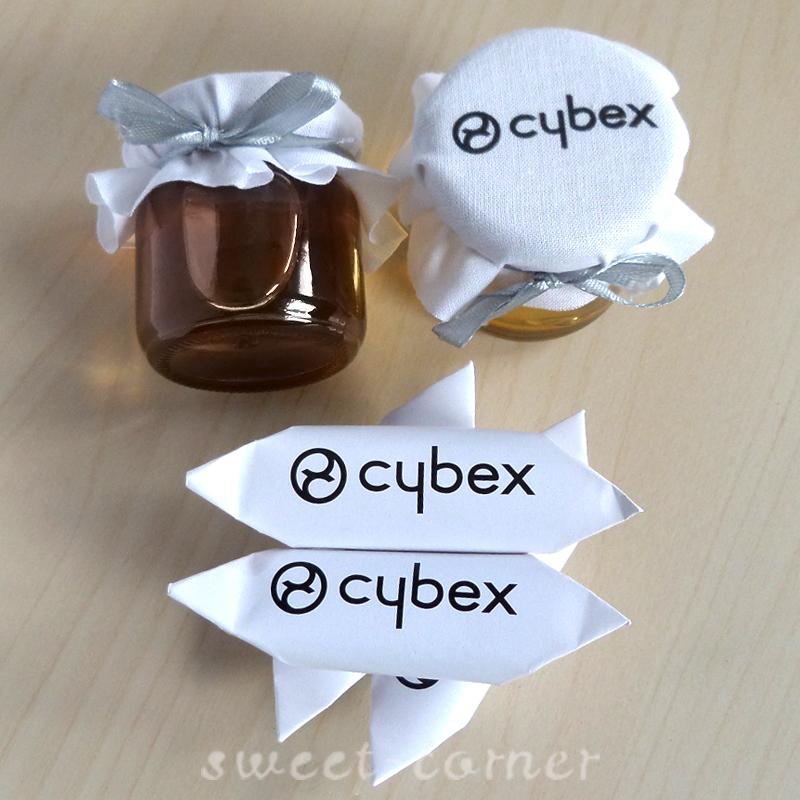 miody i krówki reklamowe Cybex
