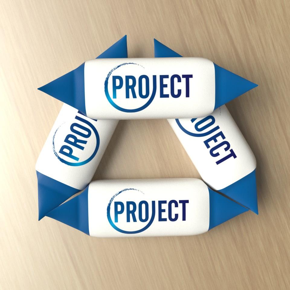krówki reklamowe Project