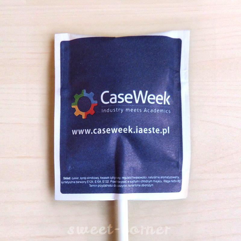 lizaki w saszetkach z logo case week