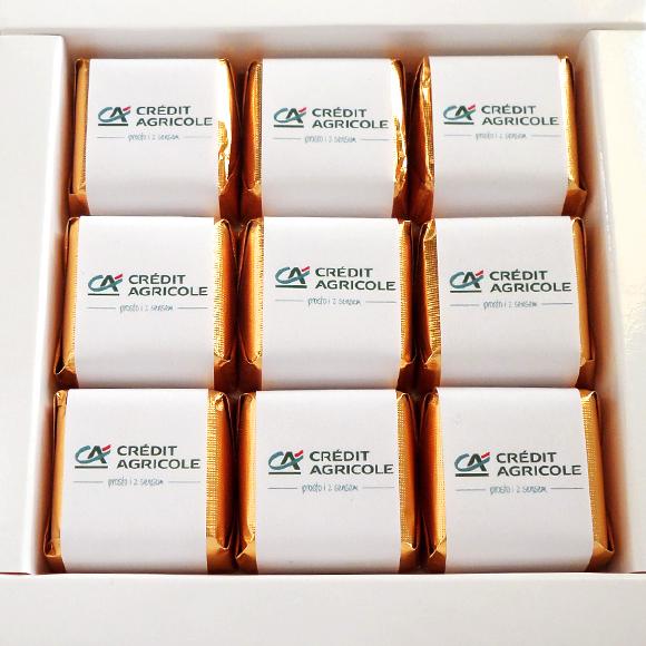 czekoladki reklamowe w pudełku