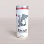 napoje energetyczne z logo lemar