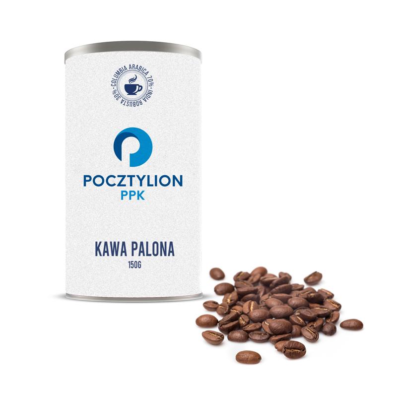 kawa z logo