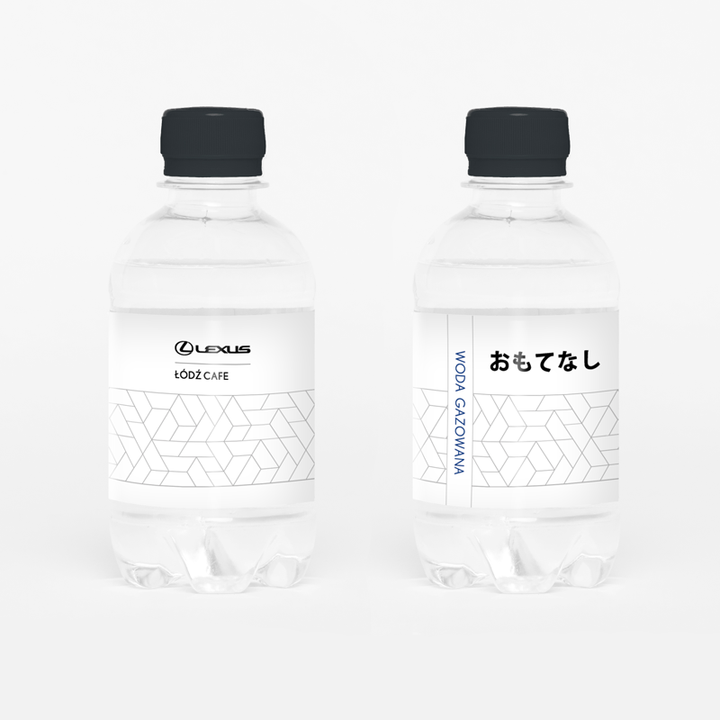 woda reklamowa