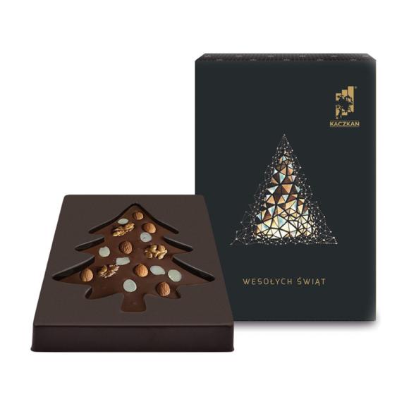 czekoladowa choinka z Twoim logo