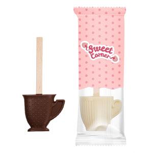 Gorąca czekolada z Logo